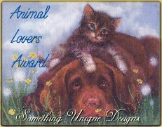 Animal Lovers Award