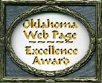 Oklahoma Web Page Excellence Award